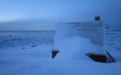 It's even deeper in Greenland!